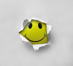 smiley, yellow, ball